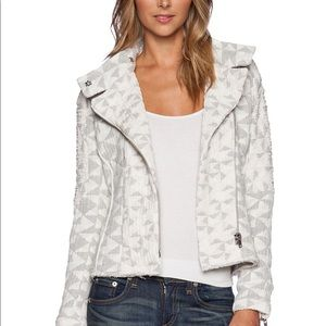 IRO Otavia Triangle-Pattern Quilted Jacket